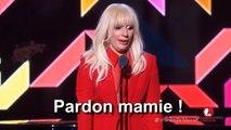 """Lady Gaga critique grossièrement l'industrie du disque, sexiste : """"pardon mamie !"""""""