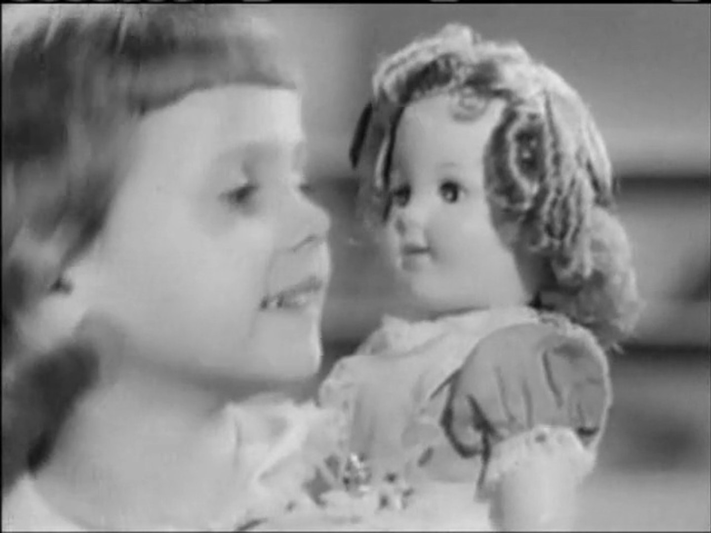 1950s SHIRLEY TEMPLE DOLL COMMERCIAL