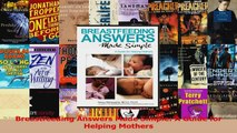 PDF Download  Breastfeeding Answers Made Simple A Guide for Helping Mothers Download Online