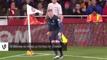 Zap Foot du 22 décembre: Yaya Touré, une frappe en pleine lucarne, De Bruyne trébuche sur le poteau de corner, Neymar manque de respect à River Plate etc.
