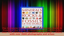 Read  The Complete Illustrated Guide to Minerals Rocks  Fossils of the World A comprehensive PDF Free