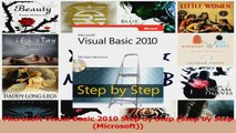 Microsoft Visual Basic 2010 Step by Step Step by Step Microsoft Download