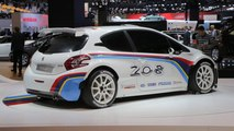 Peugeot 208 R5 Rally Car - 2012 Paris Auto Show