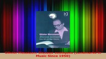 PDF Download  Olivier Messiaen Oiseaux exotiques Landmarks in Music Since 1950 Read Online
