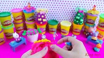 barbie surprise eggs play doh candy egg peppa pig barbie surprise eggs toys play