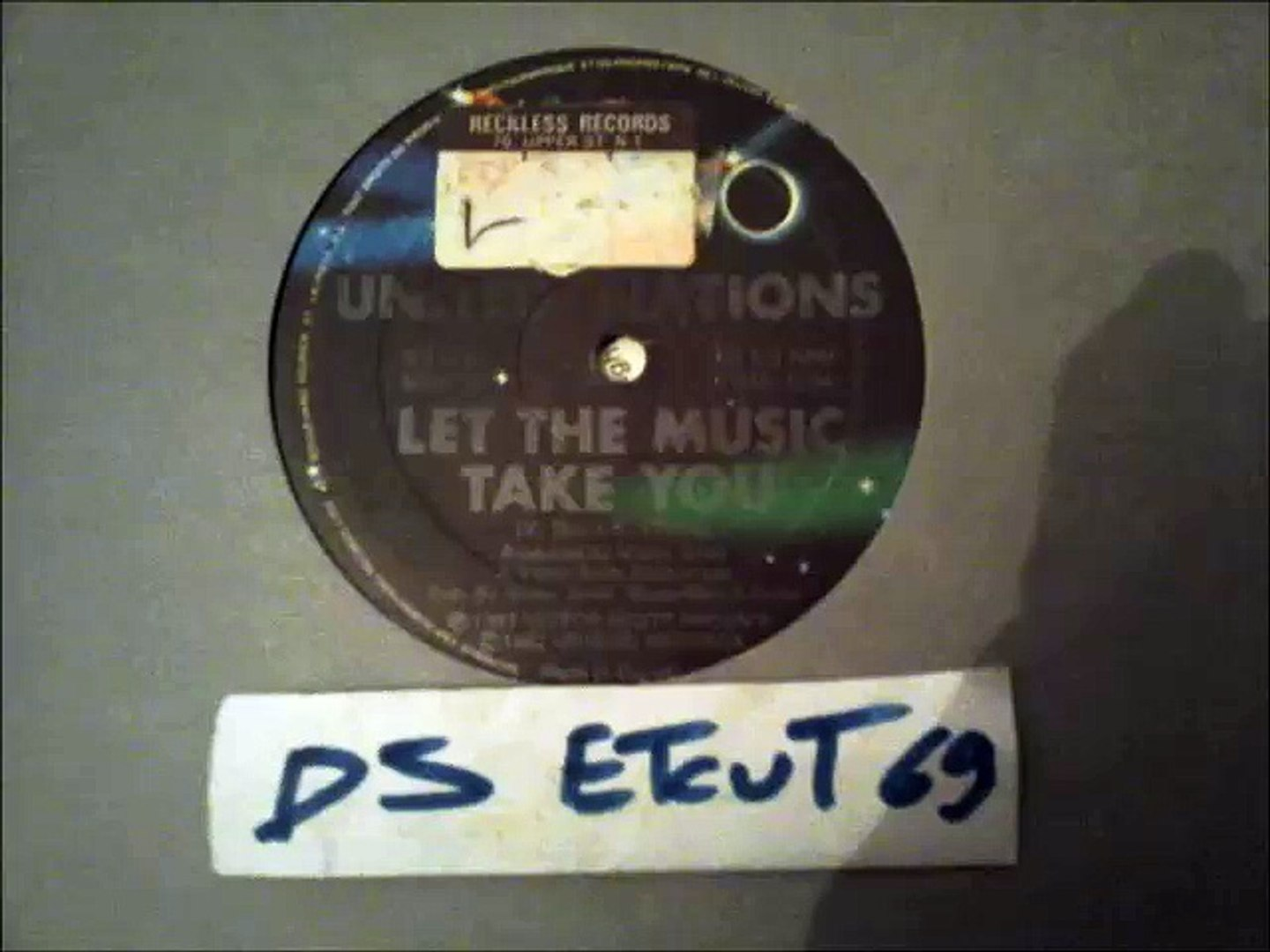 UNITED NATIONS -LET THE MUSIC TAKE YOU(RIP ETCUT)BLACK SUN REC 82