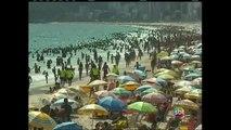 Último domingo da primavera registra sensação térmica de 45ºC no Rio