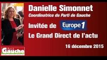 """Danielle Simonnet sur Europe 1 : """"Les retraités ne sont pas des privilégiés !"""""""