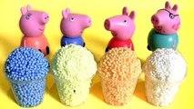 Ice Cream Surprise Clay Foam Peppa Pig & Play Doh Surprise Disney Tsum Tsum Mickey Mouse