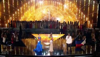 Miss Philippines crowned Miss Universe after live TV mixup