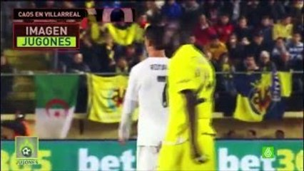 Cristiano Ronaldo gets upset on his teammates during match against Villarreal