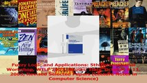 Fuzzy Logic and Applications 5th International Workshop WILF 2003 Naples Italy October Read Online