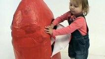 cars Peppa Pig Huge Giant surprise egg unboxing toys Gigantes juguetes unboxing huevo sorpresa