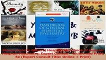 PDF Download  Massachusetts General Hospital Handbook of General Hospital Psychiatry Expert Consult  Read Full Ebook