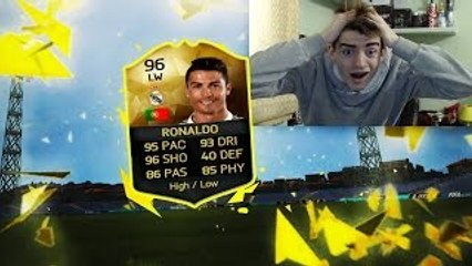 CRISTIANO RONALDO SIF 96 IN A PACK!? TOP 5 BEST PACK OPENING ITALIA! FIFA 16 #31