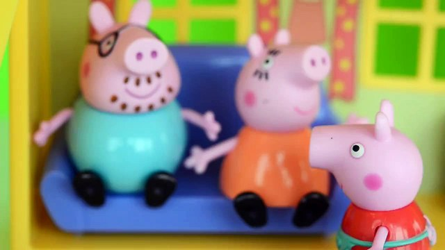 catapora Pig George da Familia Peppa Pig com Medo da Catapora da Peppa. Em Portugues Tototoykids
