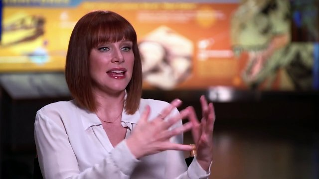 Jurassic World Interview - Bryce Dallas Howard (2015) - Chris Pratt, Bryce Dallas Howard Movie HD