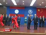 Lao NEWS on LNTV: Laos Launches First Satellite 3/9/2015