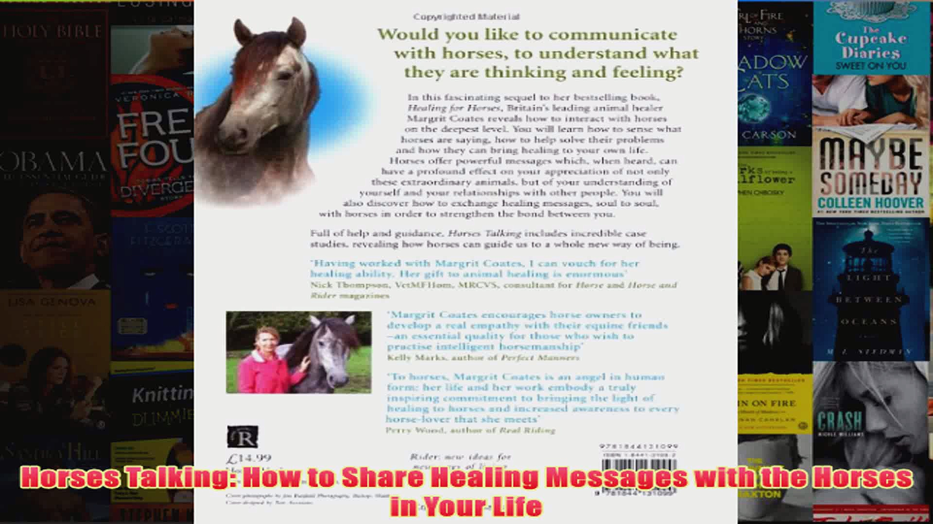 Horses Talking How to Share Healing Messages with the Horses in Your Life