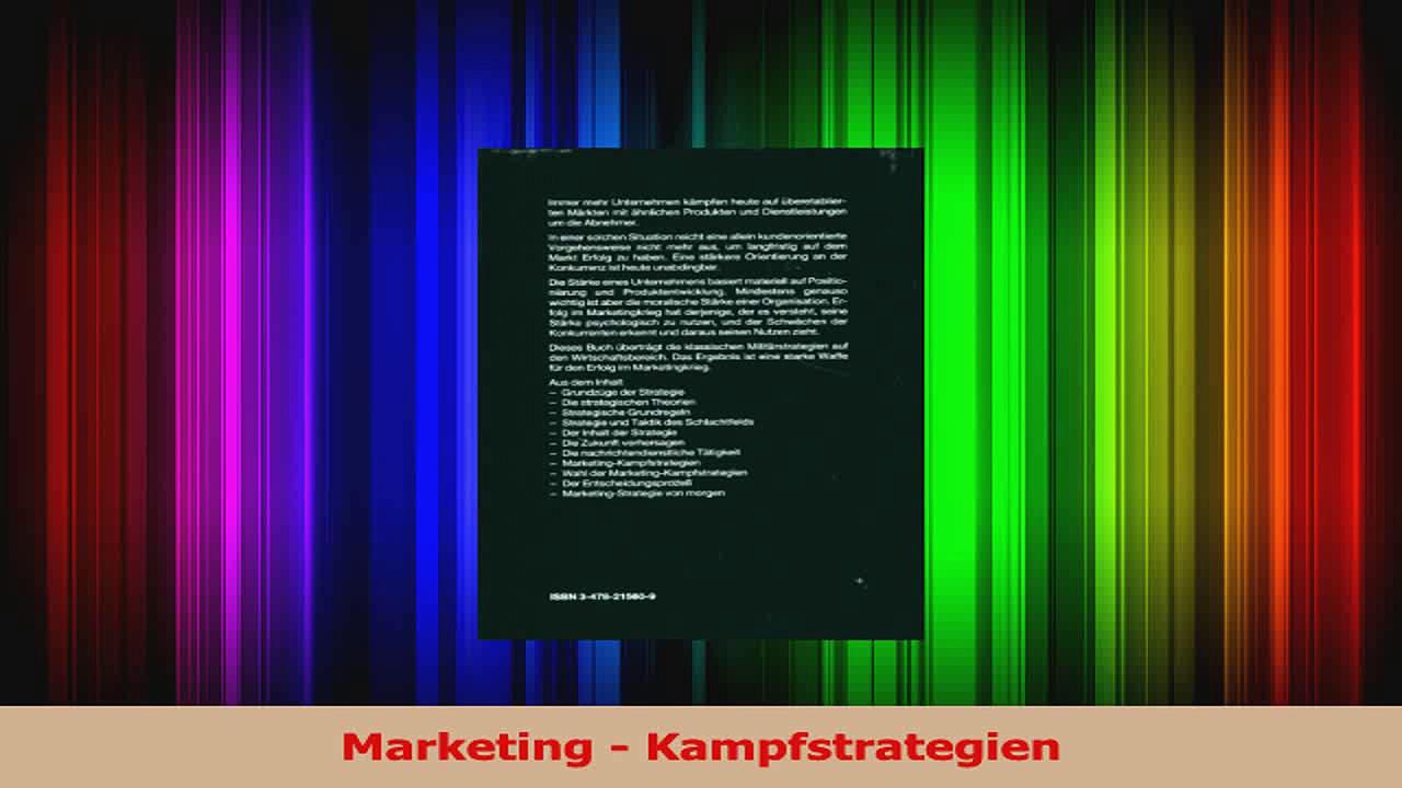 Lesen  Marketing  Kampfstrategien Ebook Frei