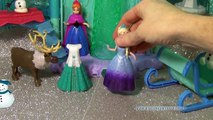 walmart FROZEN Queen Elsa's Ice Lightup Palace Featuring Olaf Disney Frozen Movie Toys Review
