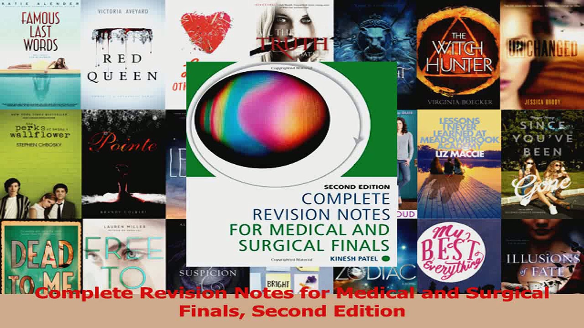 Complete Revision Notes for Medical and Surgical Finals Second Edition  Download
