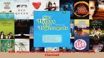 PDF Download  500 Hymns for Instruments Book B  Trumpet Clarinet Download Full Ebook