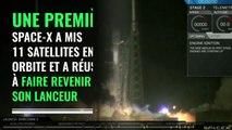 Space X envoie et récupère son lanceur avec succès
