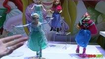 Toy Fair 2014 Disney Frozen Doll and Play Set at New York Toy Fair 2014 Disney Dolls
