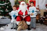 Les Minots de l'OM fêtent Noël