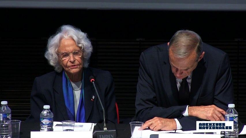 Quatrième table ronde : le témoin. Intervention de  Marie-Jo Chombart de Lauwe.