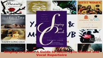 PDF Download  Singing in Czech A Guide to Czech Lyric Diction and Vocal Repertoire Read Full Ebook