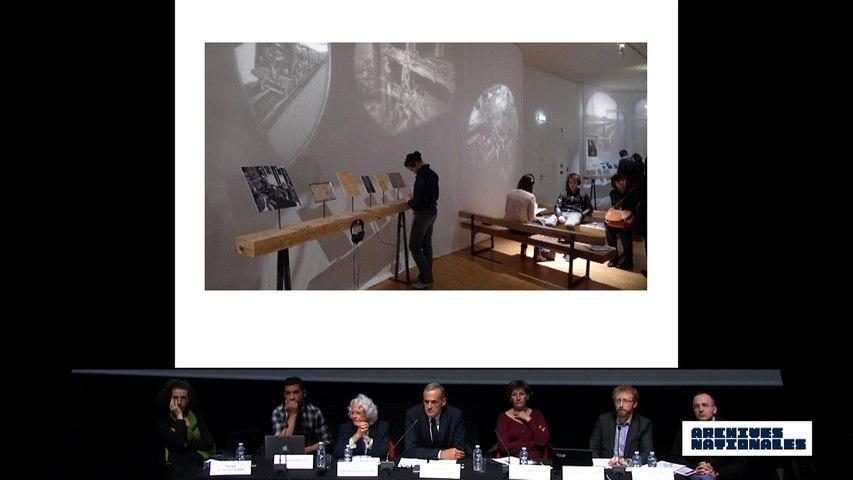 Quatrième table ronde : le témoin. Ouverture de la discussion par Yves Lescure.