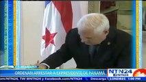 """Supremo de Panamá autoriza """"detención provisional"""" de expresidente Ricardo Martinelli"""
