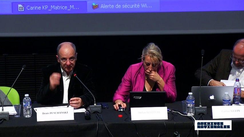Deuxième table ronde. L'internement. Discussion animée par Denis Peschanski.