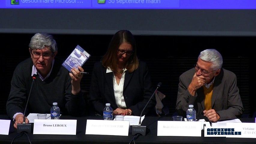 Première table ronde : la répression. Intervention de Bruno Leroux.