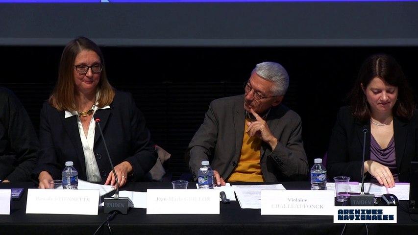 Première table ronde : la répression. Intervention de Pascale Etiennette.