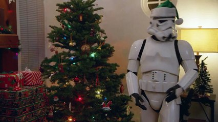 Dark Vador remplace le Père Noël
