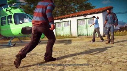 Turncoat story mission Just Cause 3