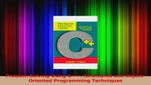 PDF Download  Problem Solving Using C Structured and ObjectOriented Programming Techniques PDF Online