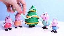 Tree Play Doh Peppa Pig Christmas Tree Play-Doh Crafts Xmas How To Decorate a Christmas Tree Peppa