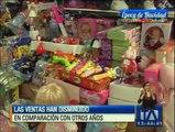 Quito: Ventas navideñas no son lo que esperaban los comerciantes