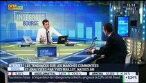 """Les tendances sur les marchés: """"Depuis l'annonce de la hausse des taux de la FED, il y a une succession de séances de correction sur les marchés"""", Yves Maillot - 22/12"""
