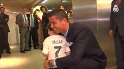 Cristiano Ronaldo meets Haidar