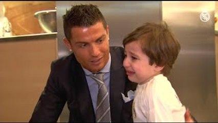 Cristiano Ronaldo Meets Haidar - The Boy Who Lost Both Parents 2015 [FULL VIDEO]