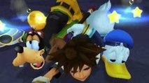 Kingdom Hearts, English cutscene: 39 Sora Meets Donald and Goofy HD 720p