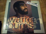 WARREN BURRIS -SLOW DOWN(RIP ETCUT)TIMELESS REC 88