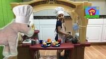 MEGA HUGE SURPRISE BOXES TOY SURPRISES Step2 Grand Walk-In Kitchen & Grill Cute Kid Magic