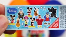 mickey mouse Peppa Pig Play Doh kinder Surprise Eggs Mickey Mouse Frozen Disney Toys mickey mouse