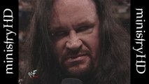 The Ministry of Darkness Era Vol. 1   Undertaker Announces The Ministry & Faces Kane in a Casket Match 10/19/98